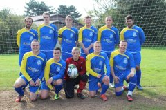 mabe afc football strip sponsored by hine downing